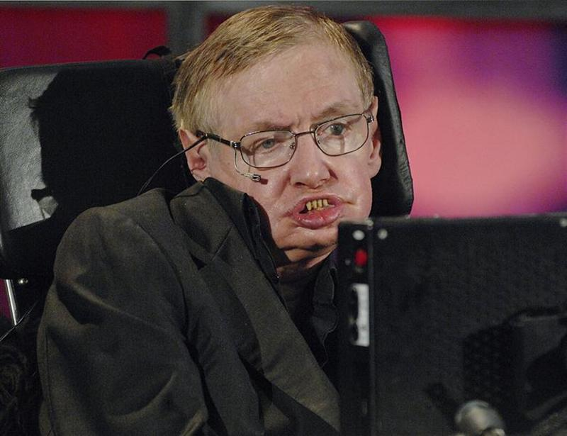 Stephen Hawking has ALS, and is an unusual case because he has lived much longer than expected.