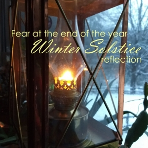 Fear at the end of the year