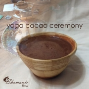 Shamanic Flow Yoga Cacao Ceremony workshop