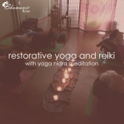 restorative yoga and reiki with yoga nidra meditation workshop